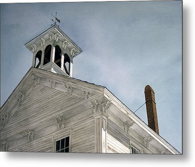 Metal Print featuring the painting Silenced Bell by Tom Wooldridge