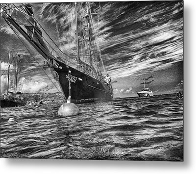 Metal Print featuring the photograph Silent Lady by Howard Salmon