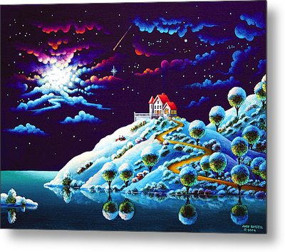 Silent Night 9 Metal Print by Andy Russell