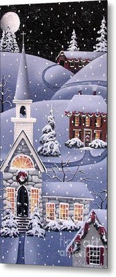 Silent Night Metal Print by Catherine Holman