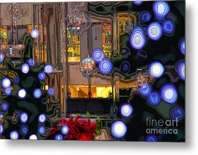 Silent Night Metal Print by Charline Xia