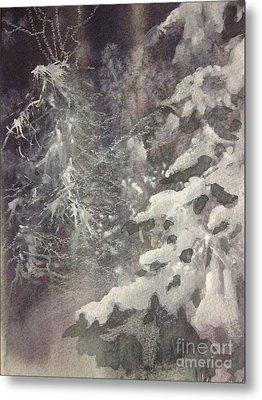 Silent Night Metal Print by Elizabeth Carr