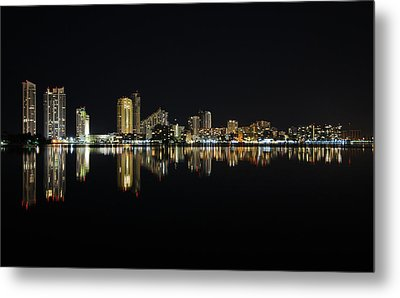 Silent Night Metal Print by Keith Armstrong