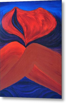 Silent She Emerges Metal Print by Daina White