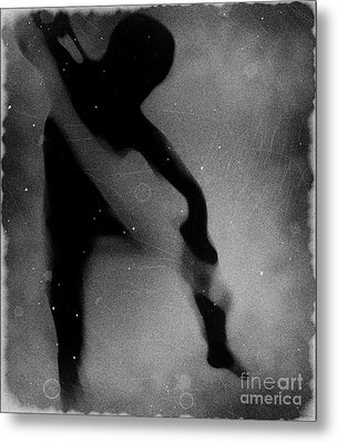 Silhouette Of An Oddity Metal Print by Jessica Shelton