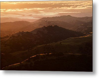 Silicon Valley Metal Print