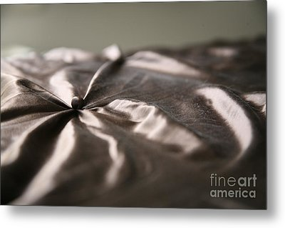 Metal Print featuring the photograph Silk by Lynn England