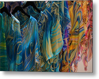 Silk Tops Metal Print