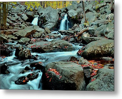 Silky Water 3 Metal Print by Allen Beatty