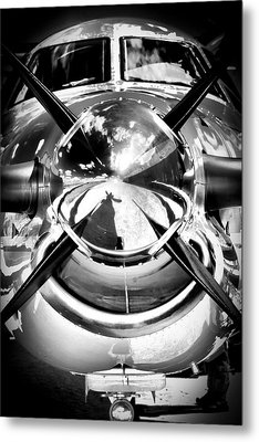 Silver 12 Metal Print