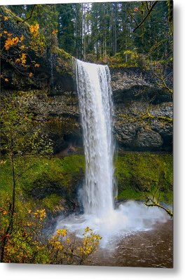 Metal Print featuring the photograph Silver Falls - South Falls by Dennis Bucklin