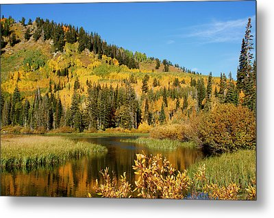 Metal Print featuring the photograph Silver Lake by Jeremy Farnsworth