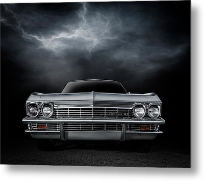 Silver Sixty Five Metal Print by Douglas Pittman