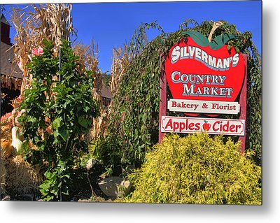 Silverman's Country Farm Metal Print by Joann Vitali