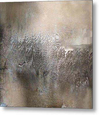 Silvery Night Metal Print