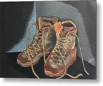 Simon's Boots Metal Print