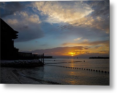 Another Sunset In Paradise Metal Print