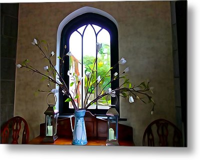Metal Print featuring the photograph Simple Elegance by Charlie and Norma Brock