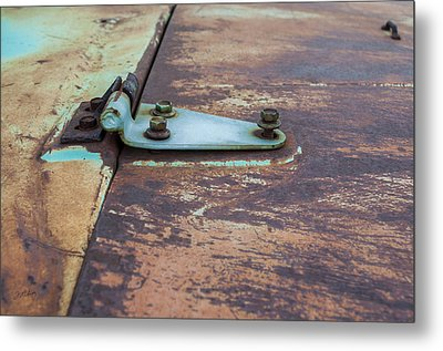 Simple Invention  Metal Print