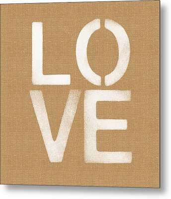 Simple Love Metal Print