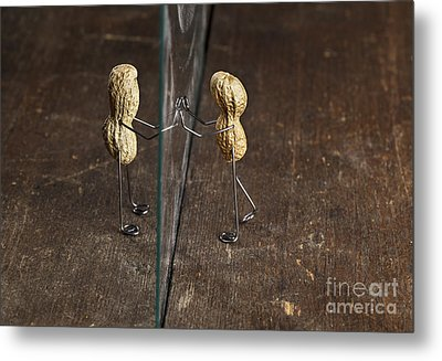 Simple Things - Apart Metal Print