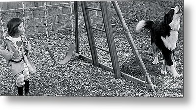Metal Print featuring the photograph Sing With Me by Barbara Dudley