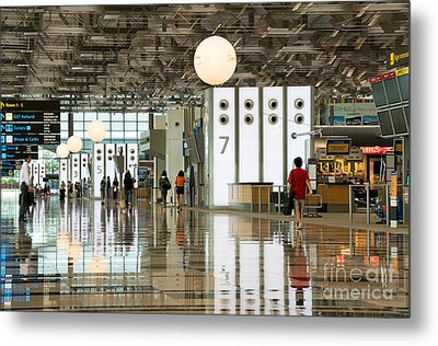 Singapore Changi Airport 02 Metal Print