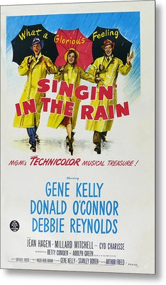 Singin In The Rain Metal Print by Georgia Fowler