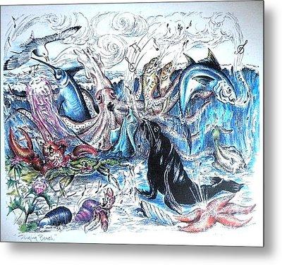 Singing Beach Metal Print by James Oliver