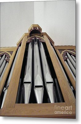 Singing Pipes Metal Print