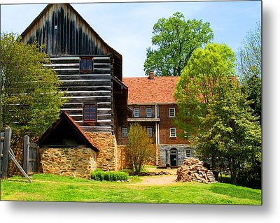 Single Brothers House Metal Print by Kathryn Meyer