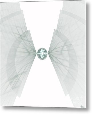 Metal Print featuring the digital art Singularity by Arlene Sundby