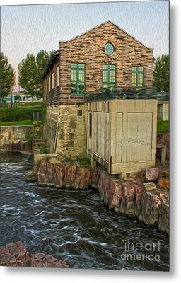 Sioux Falls - 05 Metal Print by Gregory Dyer