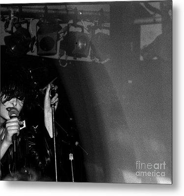 Siouxsie Metal Print by Steven Macanka