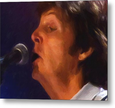 Sir Paul Metal Print by Michael Pickett