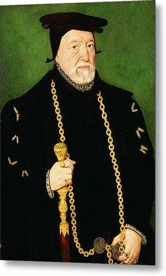 Sir Percival Hart, Unknown Artist, 16th Century Metal Print