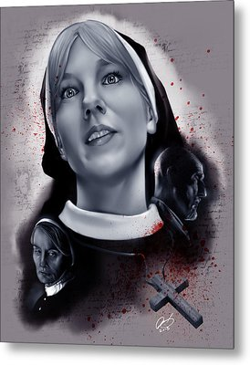 Sister Mary Eunice Metal Print by Pete Tapang