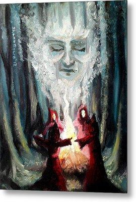 Sisters Of The Night Metal Print