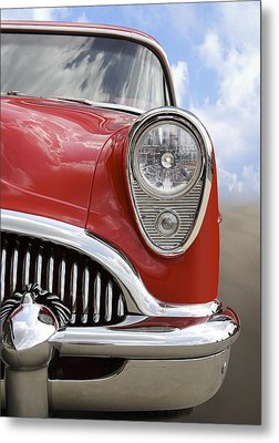 Sitting Pretty - Buick Metal Print by Mike McGlothlen