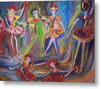 Six Eight Waltz Metal Print by Judith Desrosiers