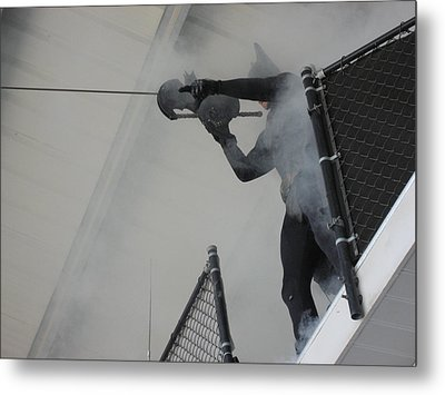 Six Flags America - 121215 Metal Print by DC Photographer