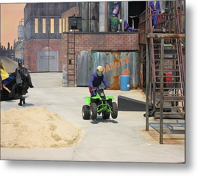 Six Flags America - 121228 Metal Print by DC Photographer