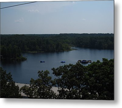 Six Flags Great Adventure - 12129 Metal Print by DC Photographer