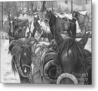 Six Pack Metal Print