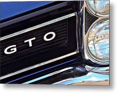 Sixty Five Gto Metal Print by Frozen in Time Fine Art Photography