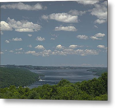 Skaneateles Lake Metal Print by Richard Engelbrecht