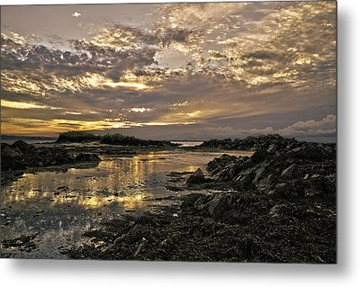 Skerries Sunset Metal Print by Martina Fagan