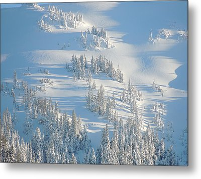 Metal Print featuring the photograph Ski by Karen Horn