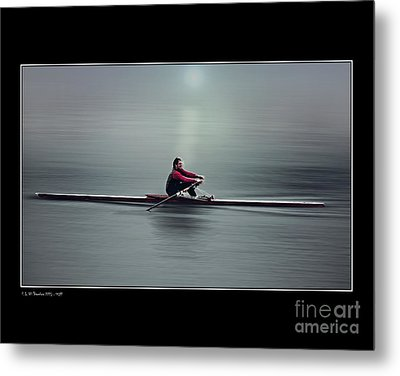 Metal Print featuring the photograph Skiff by Pedro L Gili