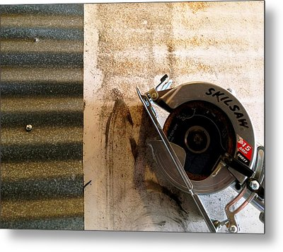 Metal Print featuring the photograph Skil by Paul Foutz